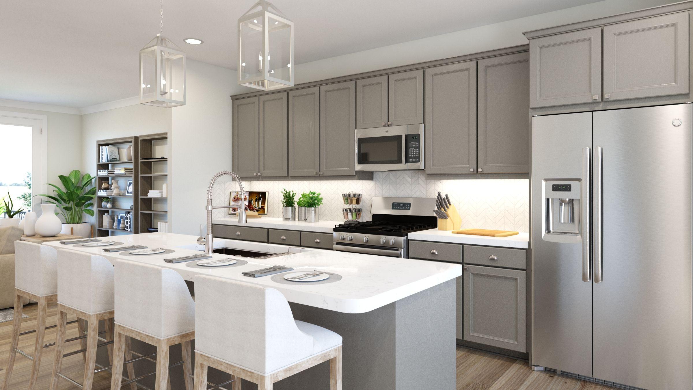 Kitchen featured in the Tristan By Van Metre Homes in Washington, VA