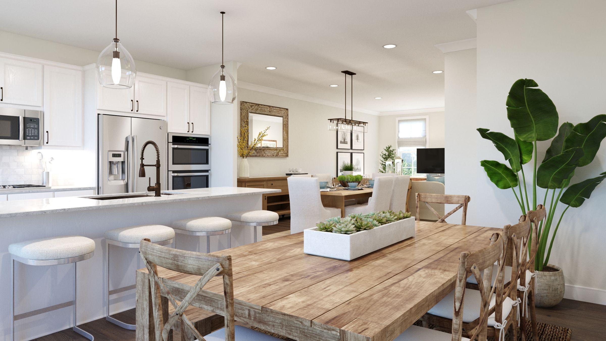 Living Area featured in the Tiegan By Van Metre Homes in Washington, VA