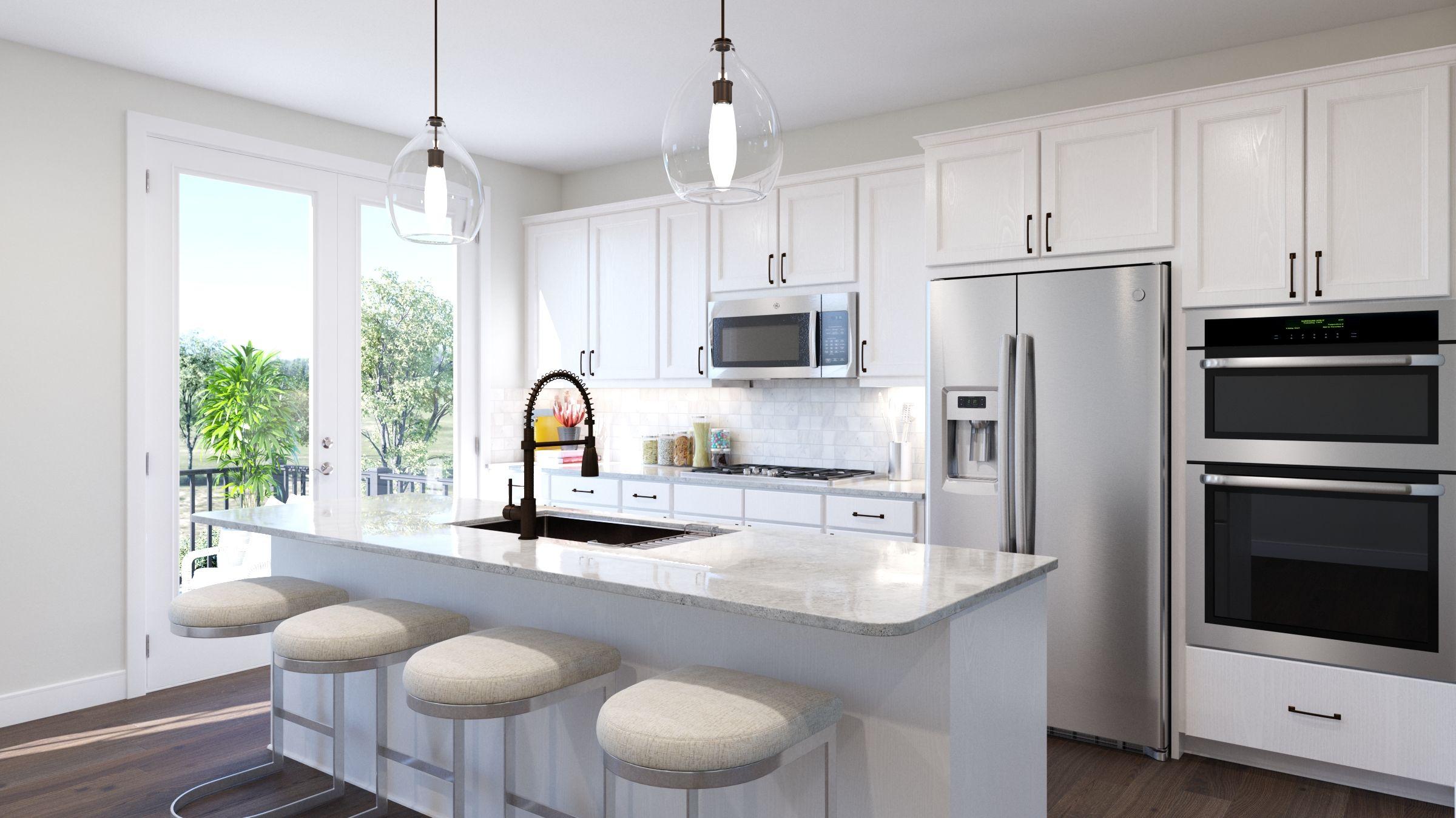 Kitchen featured in the Tiegan By Van Metre Homes in Washington, VA