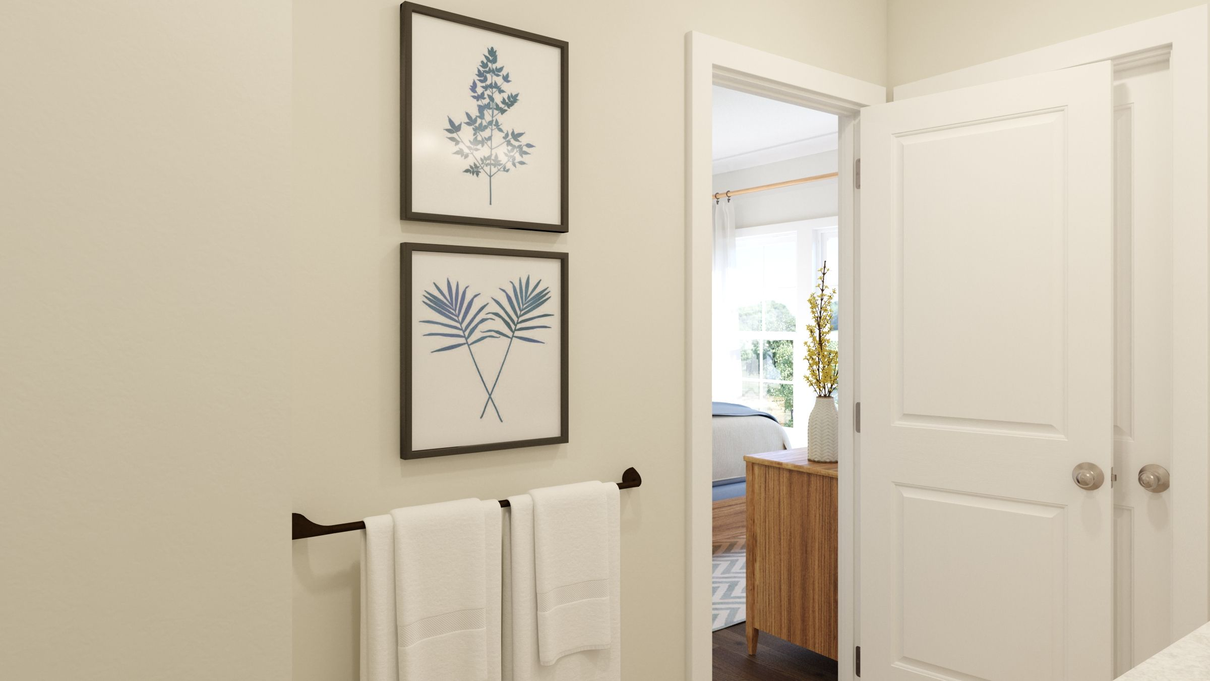 Bathroom featured in the Tiegan By Van Metre Homes in Washington, VA