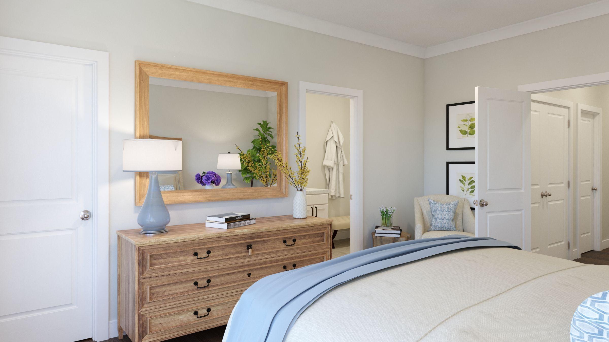 Bedroom featured in the Tiegan By Van Metre Homes in Washington, VA