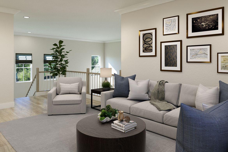 Living Area featured in the Oatland III By Van Metre Homes in Washington, VA