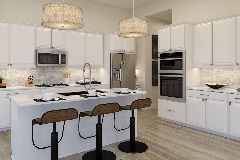Kitchen featured in the Oatland III By Van Metre Homes in Washington, VA