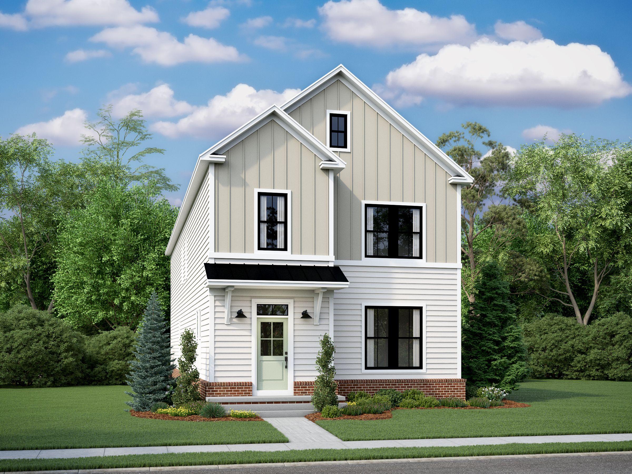 Exterior featured in the Hamilton By Van Metre Homes in Washington, VA