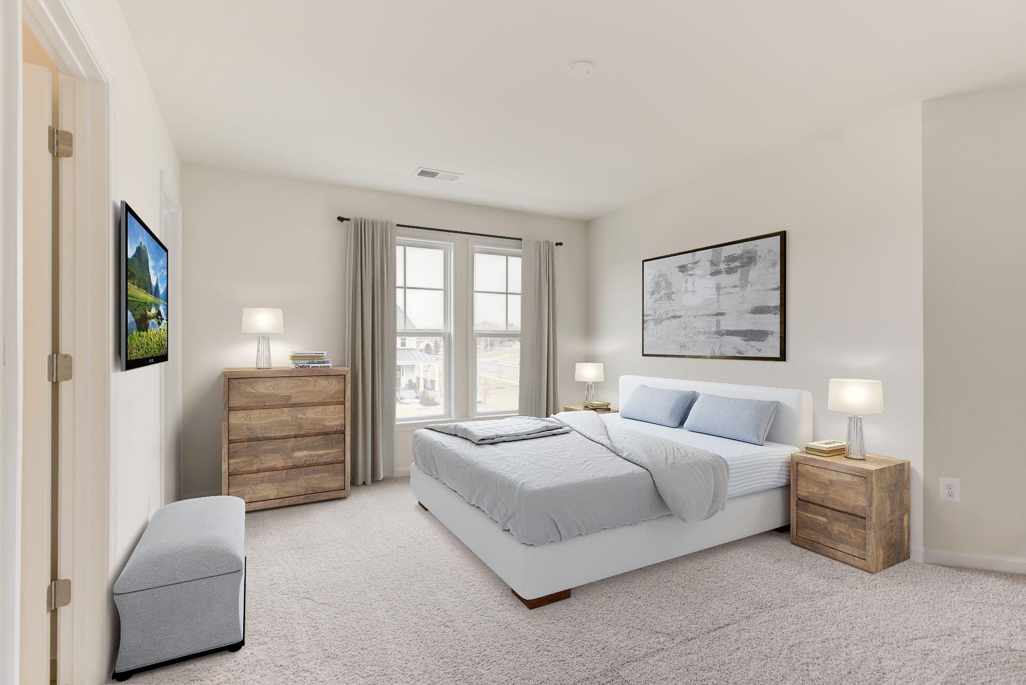 Bedroom featured in the Stratford By Van Metre Homes in Washington, VA