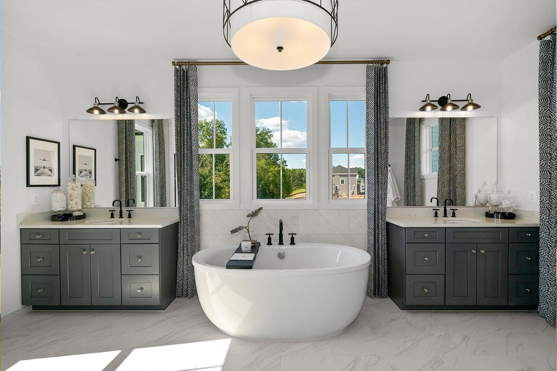 Bathroom featured in the Belmont II By Van Metre Homes in Washington, VA