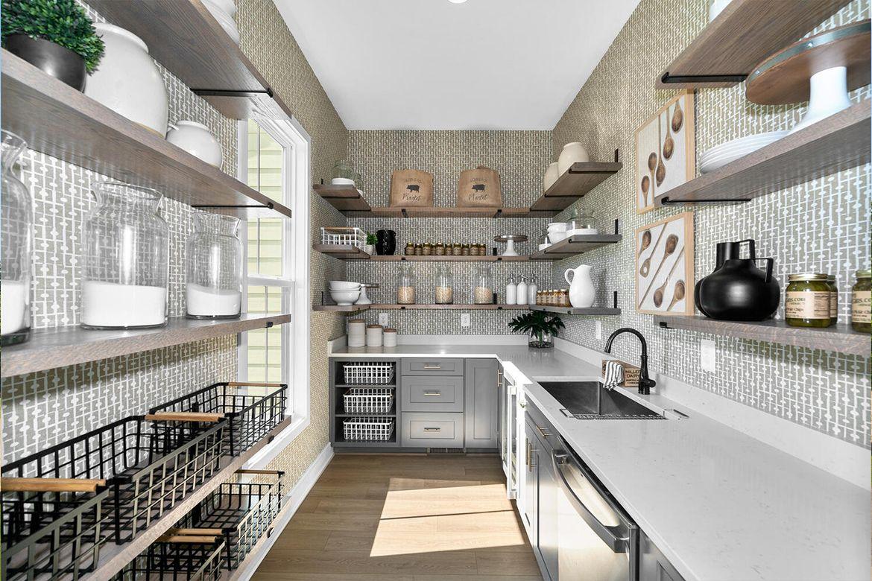 Kitchen featured in the Belmont II By Van Metre Homes in Washington, VA