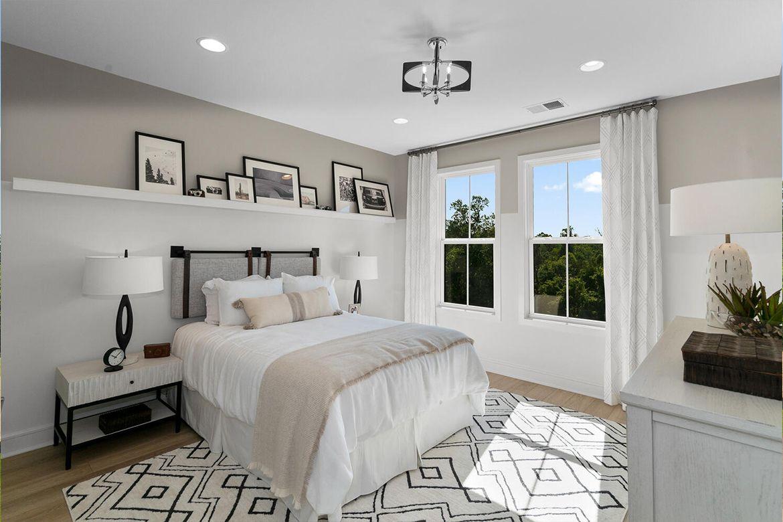 Bedroom featured in the Belmont II By Van Metre Homes in Washington, VA