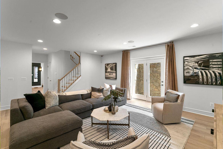 Living Area featured in the Belmont II By Van Metre Homes in Washington, VA