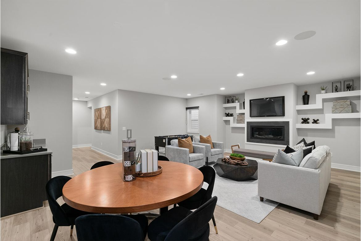 Living Area featured in the Hamilton By Van Metre Homes in Washington, VA