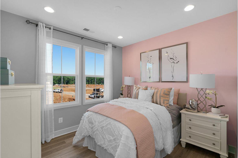 Bedroom featured in the Hamilton By Van Metre Homes in Washington, VA