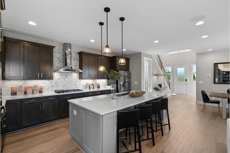 Kitchen featured in the Hamilton By Van Metre Homes in Washington, VA