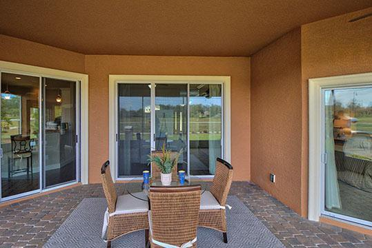 Exterior featured in The Paris IV By Vanacore Homes in Daytona Beach, FL