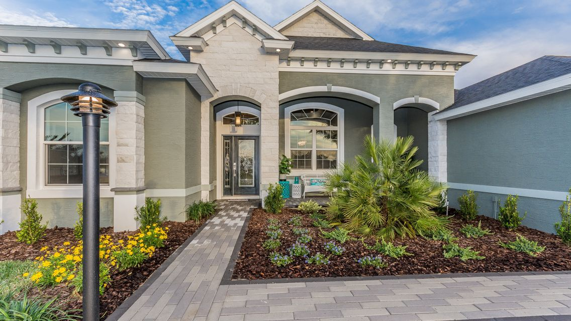 Exterior featured in The Halifax By Vanacore Homes in Daytona Beach, FL