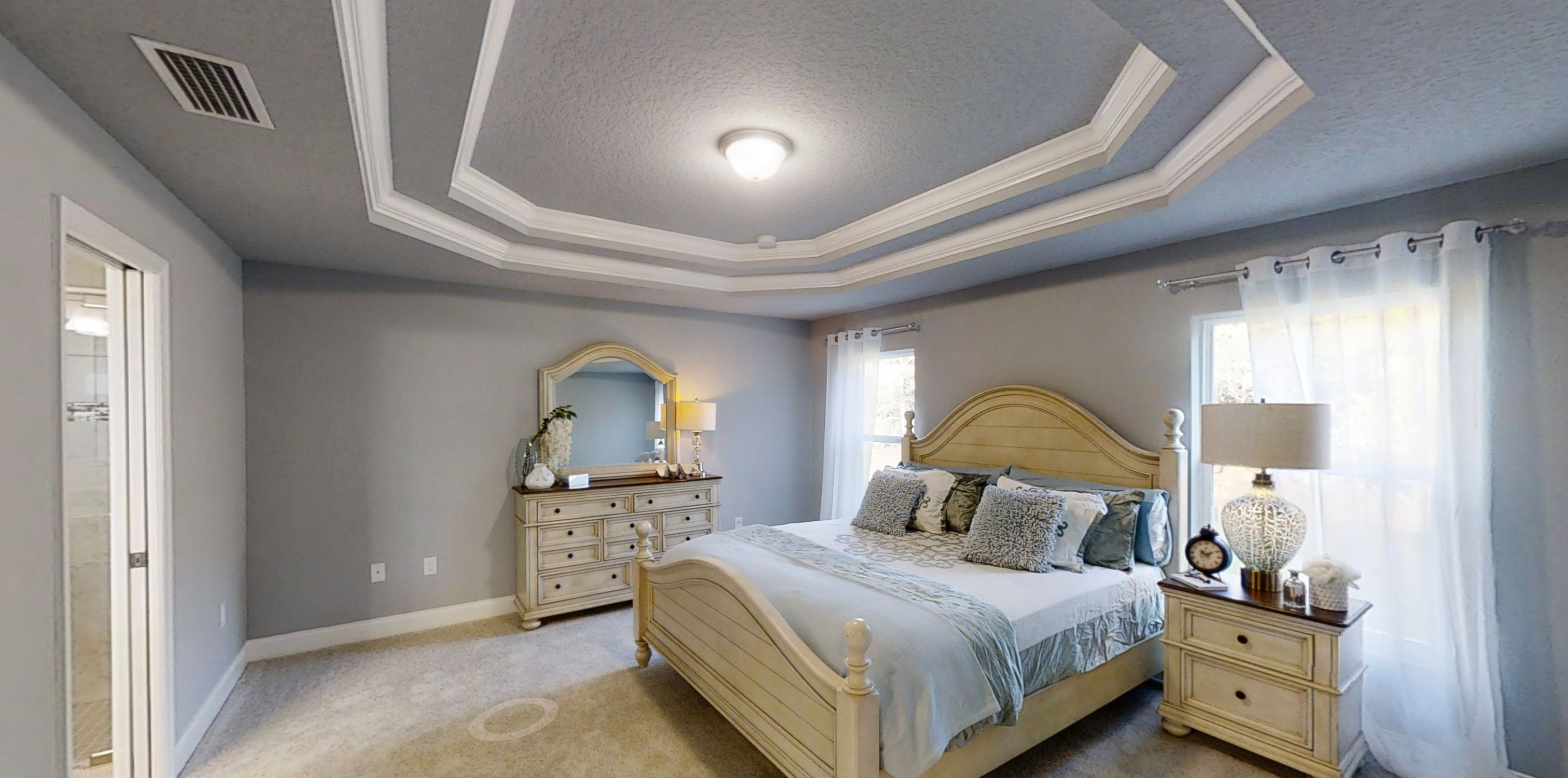 Bedroom featured in The Greystone By Vanacore Homes in Daytona Beach, FL