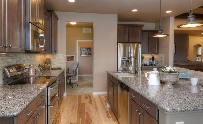 Kitchen featured in the Nokota By Vantage Homes in Colorado Springs, CO