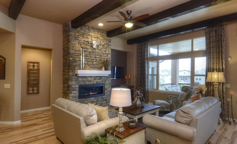 Living Area featured in the Nokota By Vantage Homes in Colorado Springs, CO