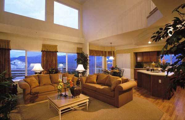 Living Area featured in the Willowwood II By Vantage Homes in Colorado Springs, CO