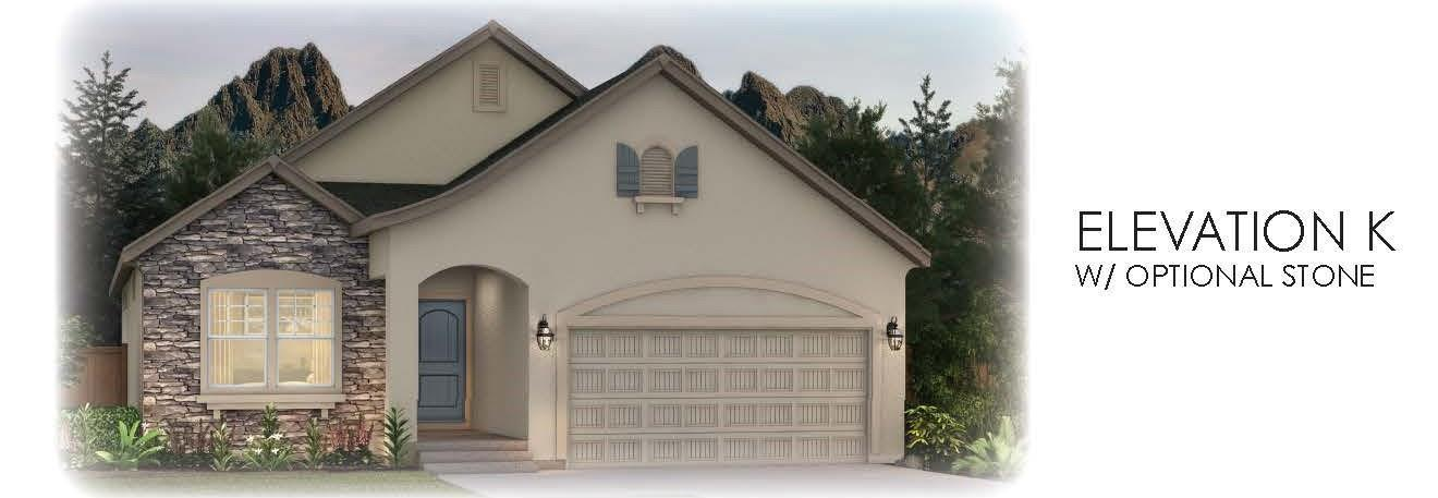 Exterior featured in the Appaloosa II By Vantage Homes in Colorado Springs, CO
