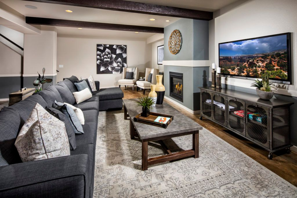 Living Area featured in the Mustang By Vantage Homes in Colorado Springs, CO