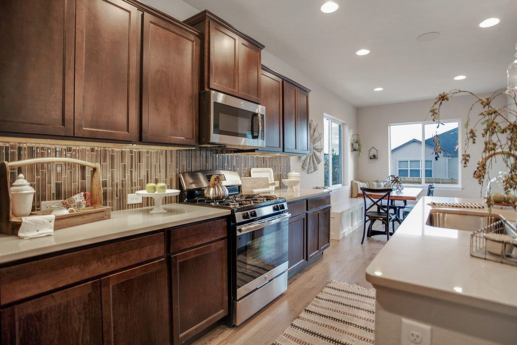 Kitchen featured in the Berkeley By Vantage Homes in Colorado Springs, CO