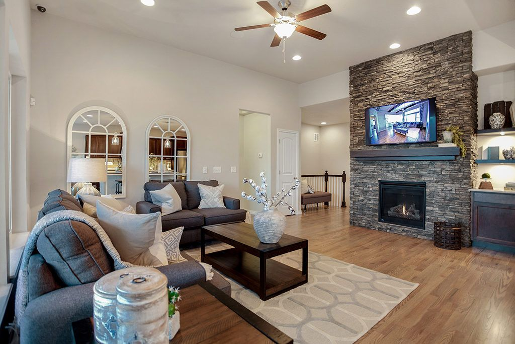 Living Area featured in the Berkeley By Vantage Homes in Colorado Springs, CO