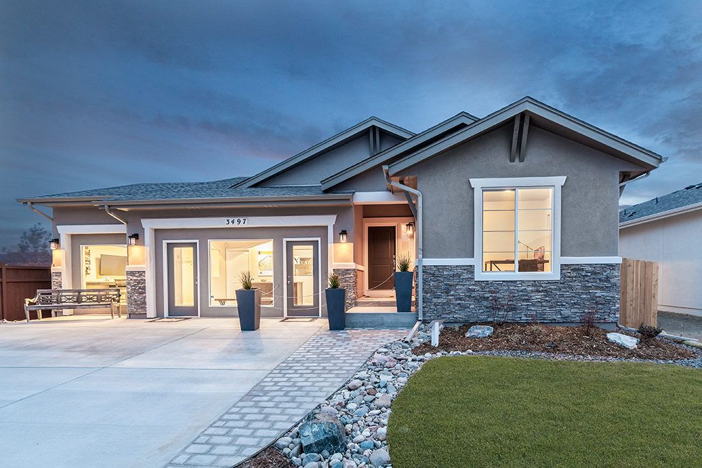Exterior featured in the Berkeley By Vantage Homes in Colorado Springs, CO