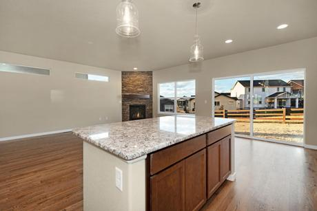 Kitchen-in-Appaloosa II-at-Cordera-in-Colorado Springs & Kitchen Design Ideas in Colorado Springs | 383 Pictures | HomLuv