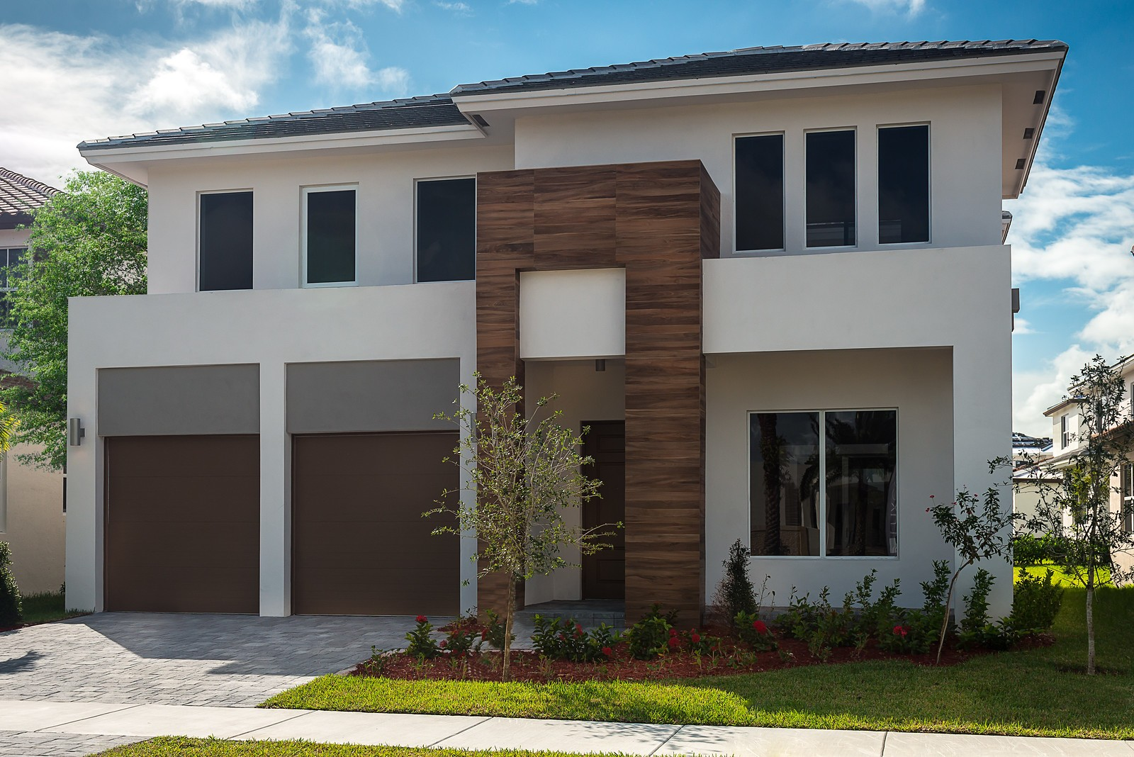Cole 50 Plan At Mosaic At Venetian Parc In Miami Fl By Luxcom Builders