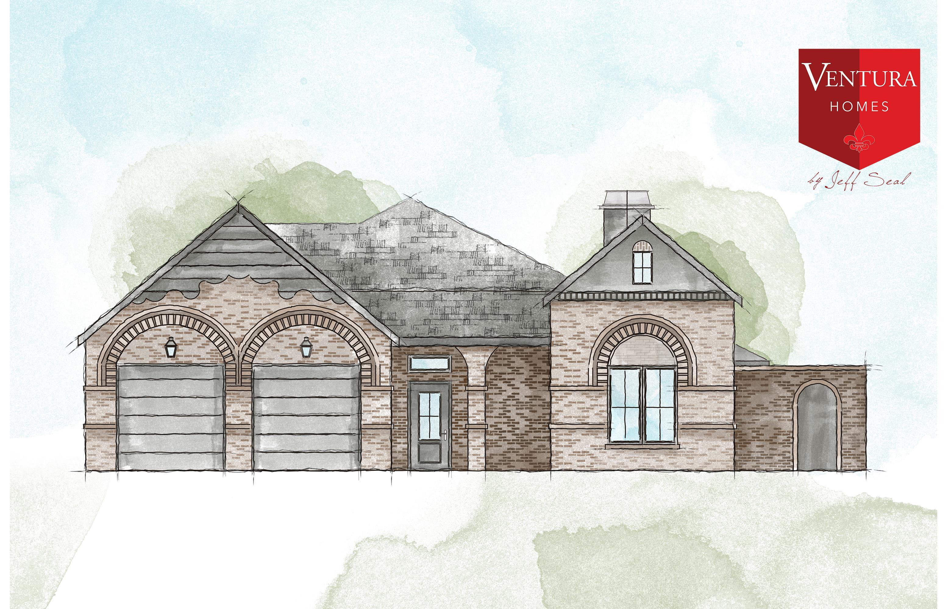 Exterior featured in the 12202 Kenosha Ave. By Ventura Homes in Lubbock, TX