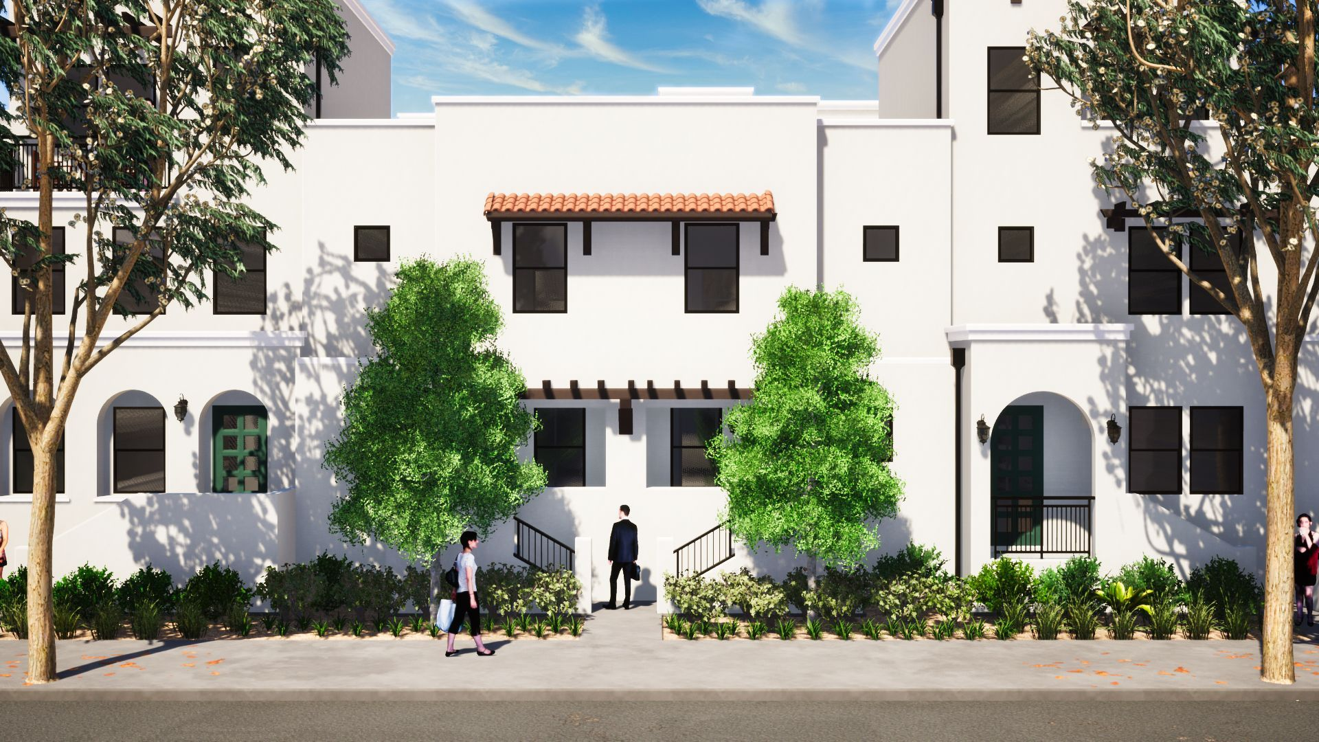 Exterior featured in the Plan 4 By JMAC Communities Inc. in Ventura, CA