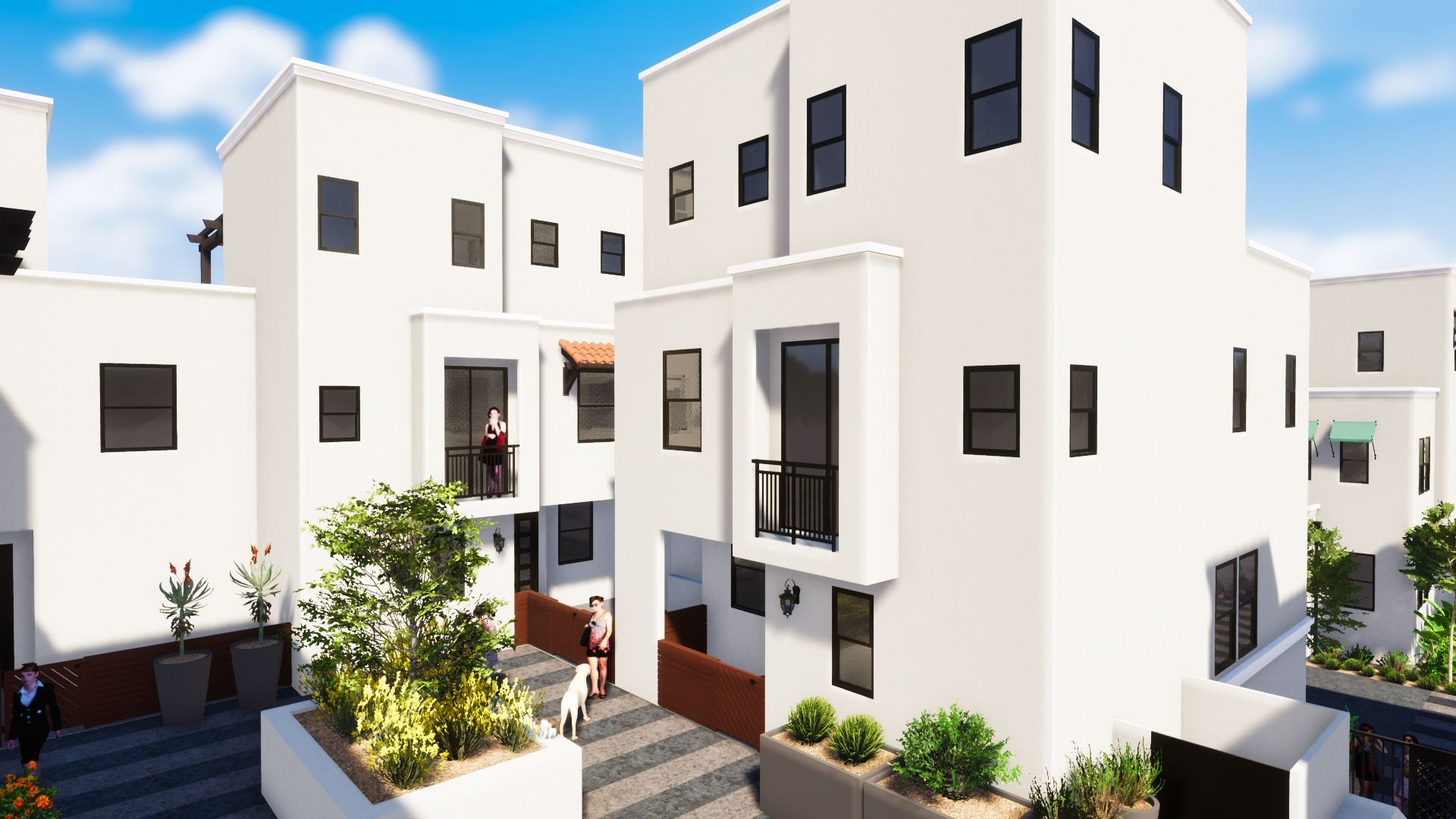 Exterior featured in the Plan 7 By JMAC Communities Inc. in Ventura, CA