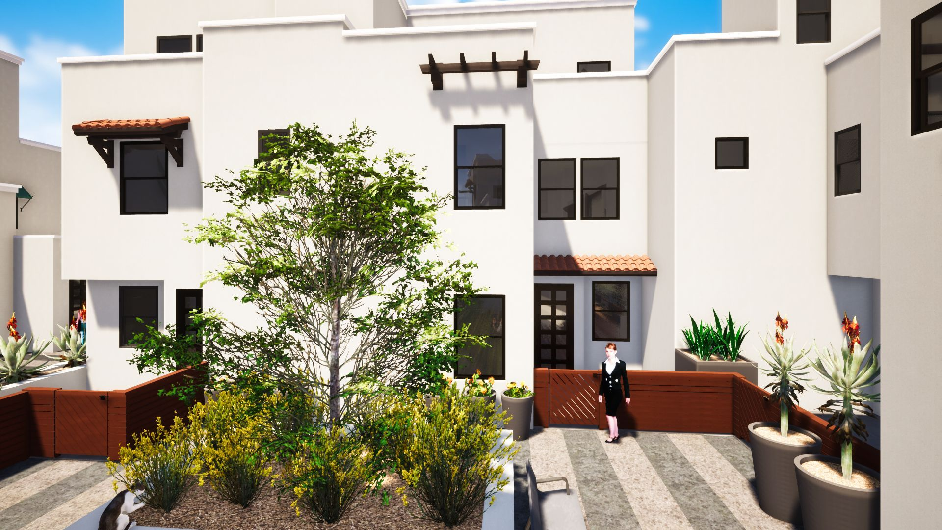 Exterior featured in the Plan 8 By JMAC Communities Inc. in Ventura, CA