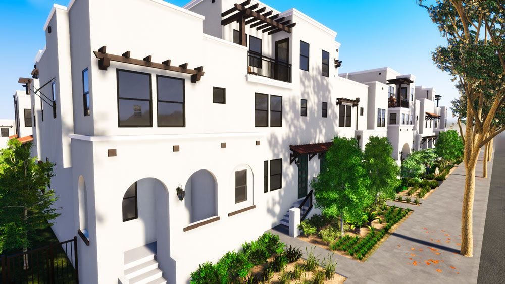 Exterior featured in the Plan 5 By JMAC Communities Inc. in Ventura, CA
