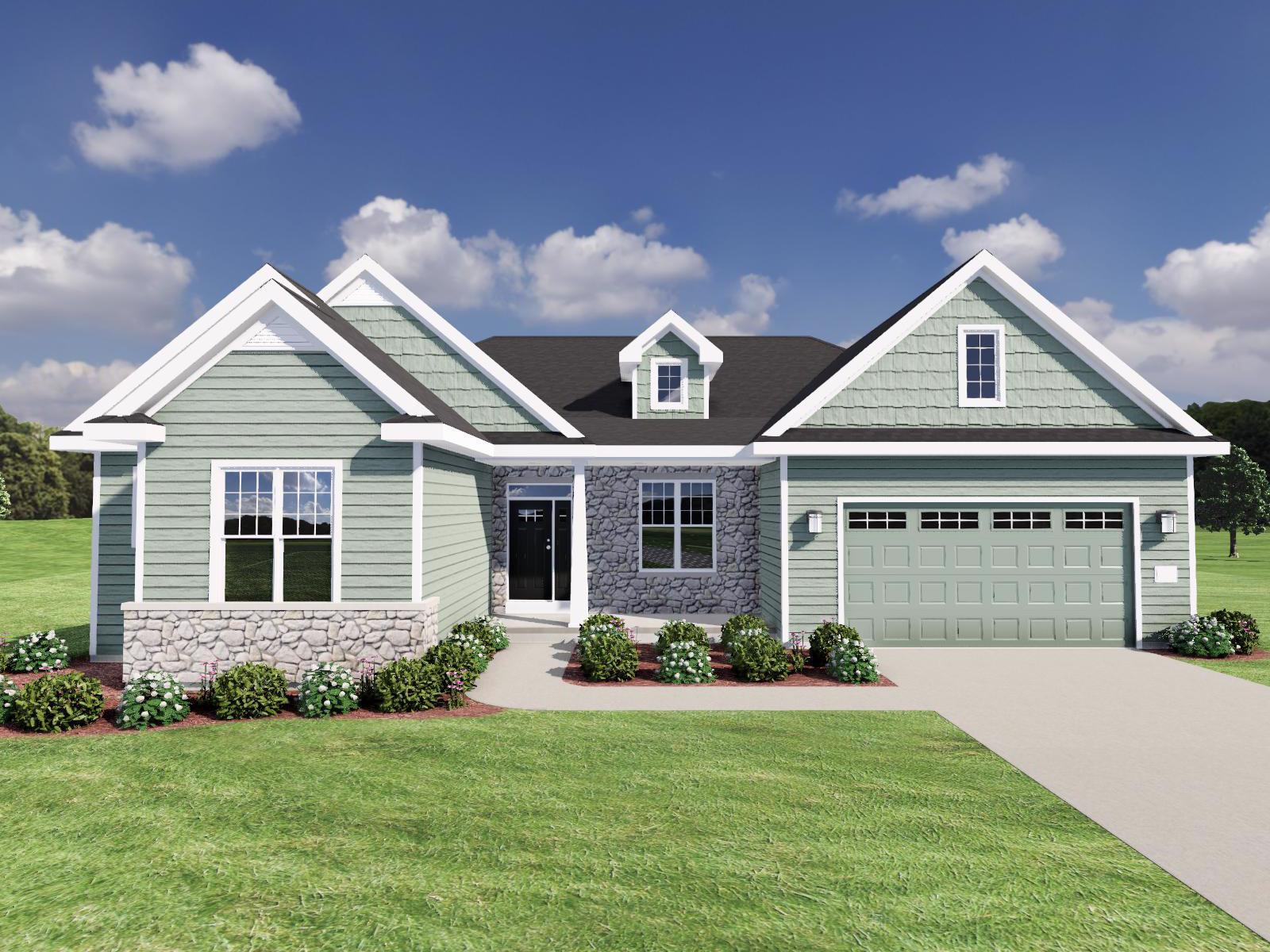 Exterior featured in The Benedict SS By Veridian Homes in Washington-Fond du Lac, WI