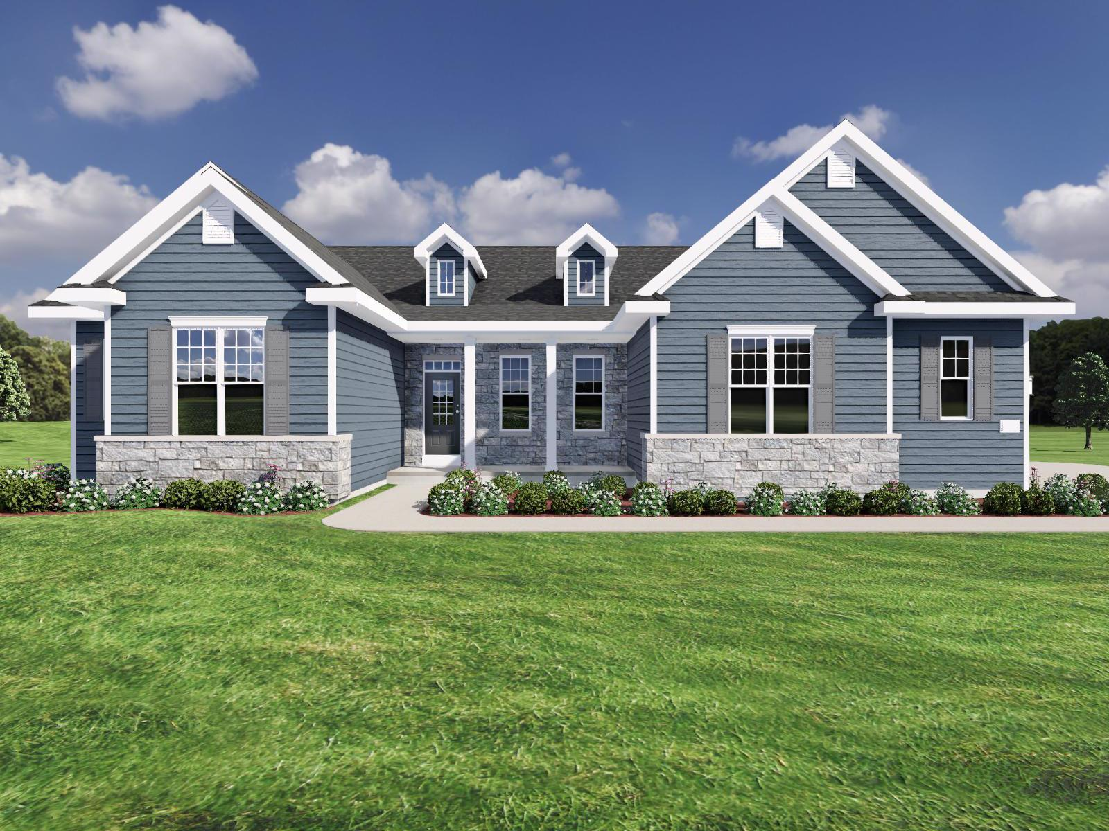 Exterior featured in The Benedict SS By Veridian Homes in Milwaukee-Waukesha, WI