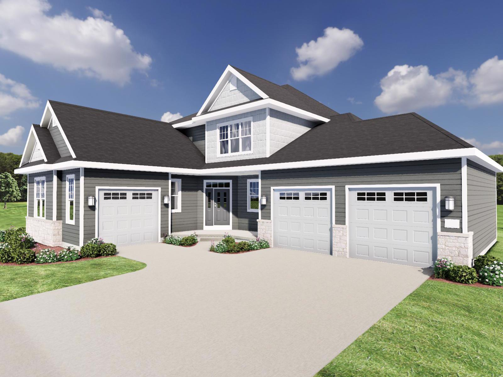 Exterior featured in The Bryant II SS By Veridian Homes in Washington-Fond du Lac, WI