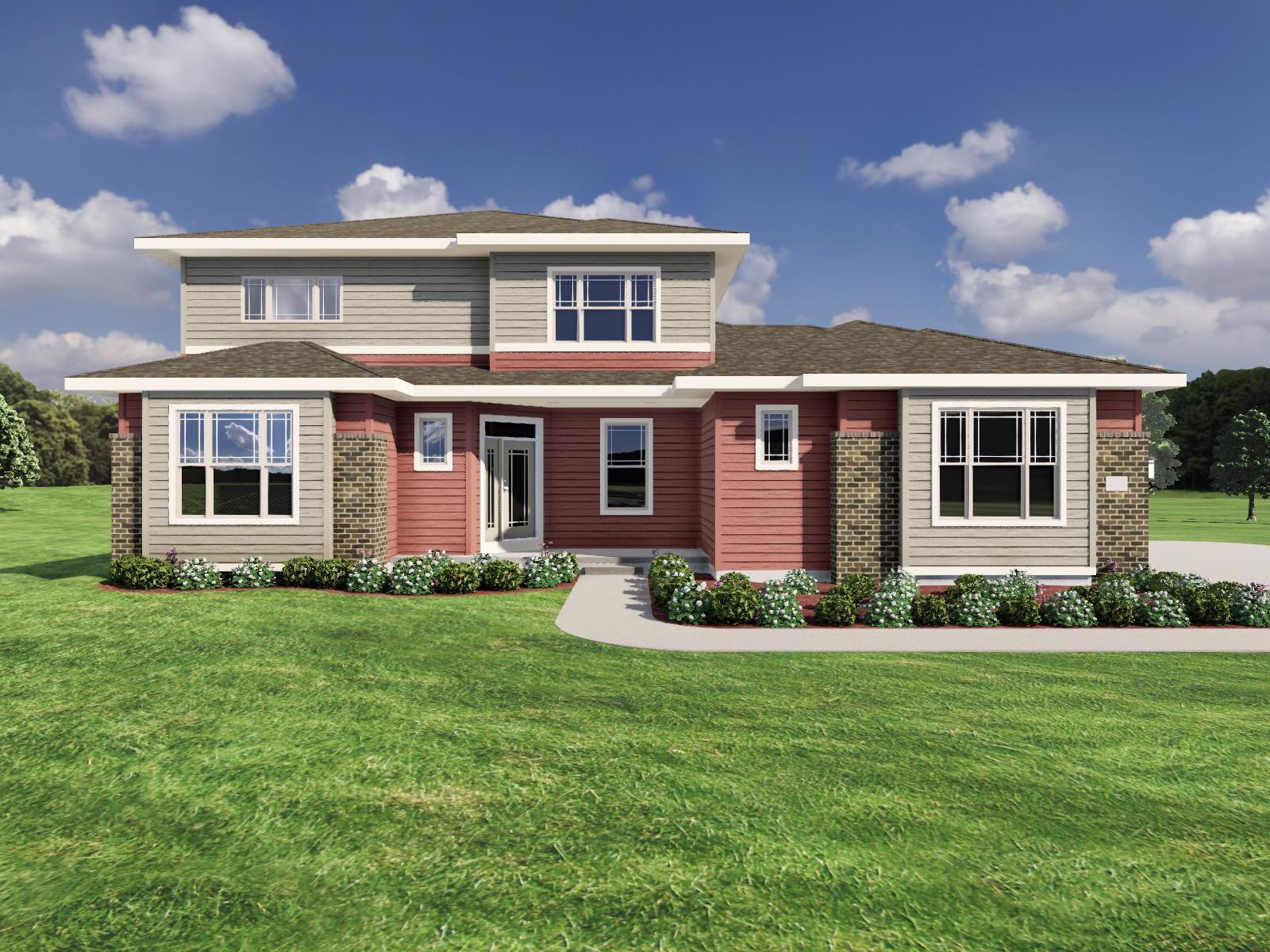 Exterior featured in The Bryant II SS By Veridian Homes in Ozaukee-Sheboygan, WI
