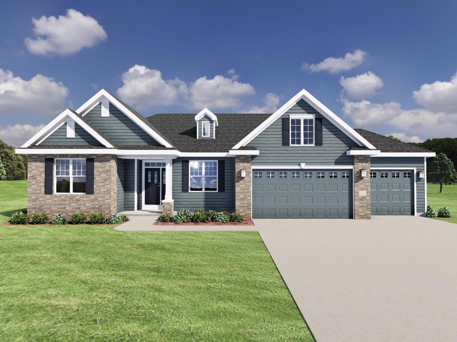 Exterior featured in The Conrad SS By Veridian Homes in Milwaukee-Waukesha, WI