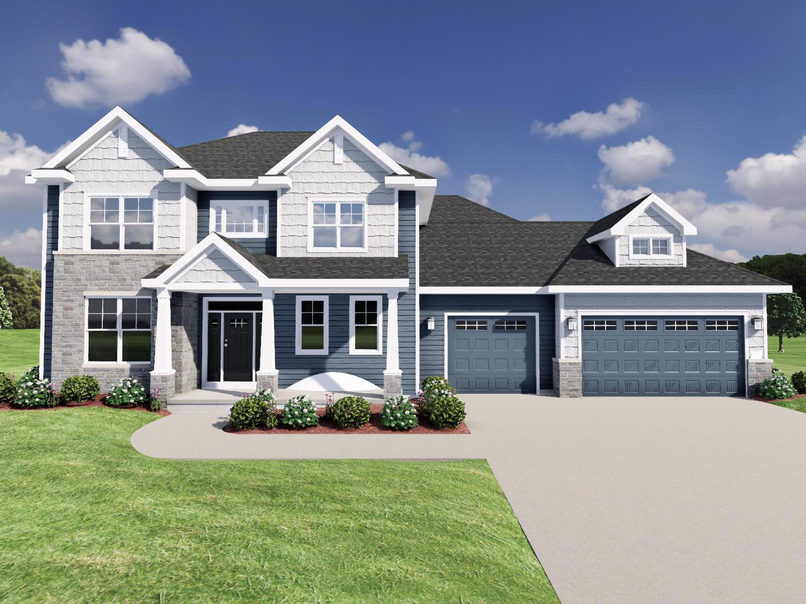 Exterior featured in The Maybeck SS By Veridian Homes in Ozaukee-Sheboygan, WI