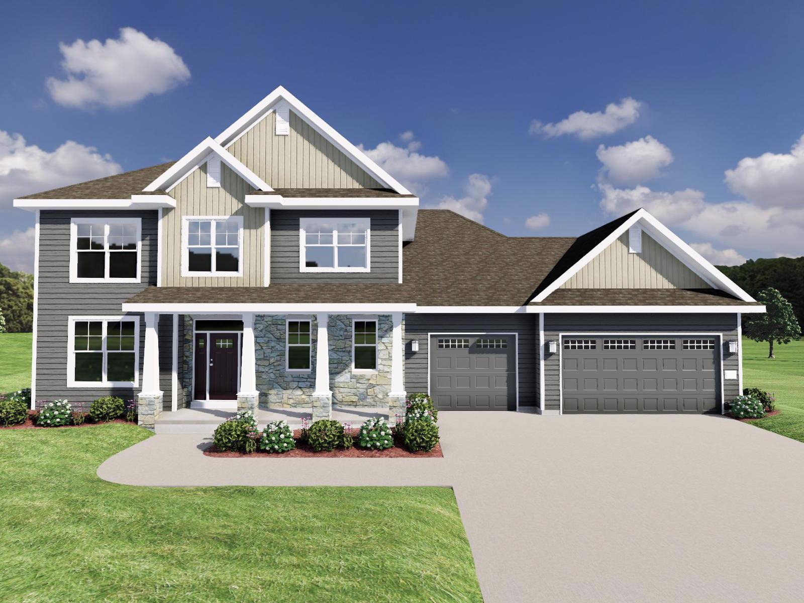 Exterior featured in The Maybeck SS By Veridian Homes in Milwaukee-Waukesha, WI