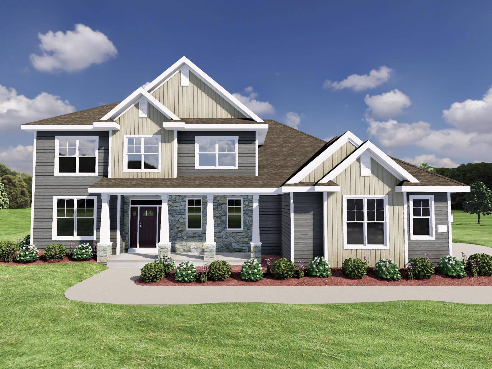 Exterior featured in The Maybeck SS By Veridian Homes in Washington-Fond du Lac, WI