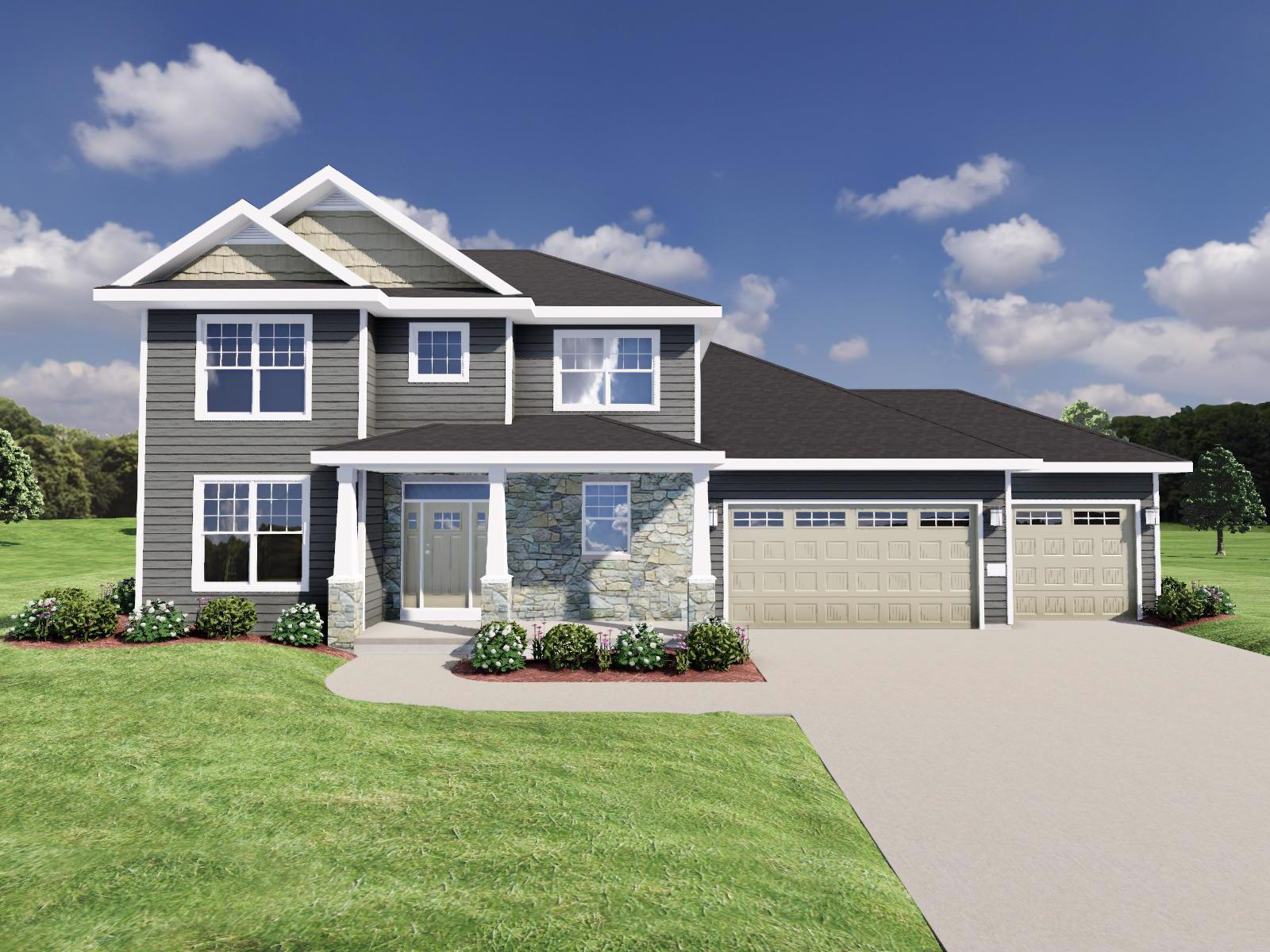 Exterior featured in The Randall SS By Veridian Homes in Washington-Fond du Lac, WI