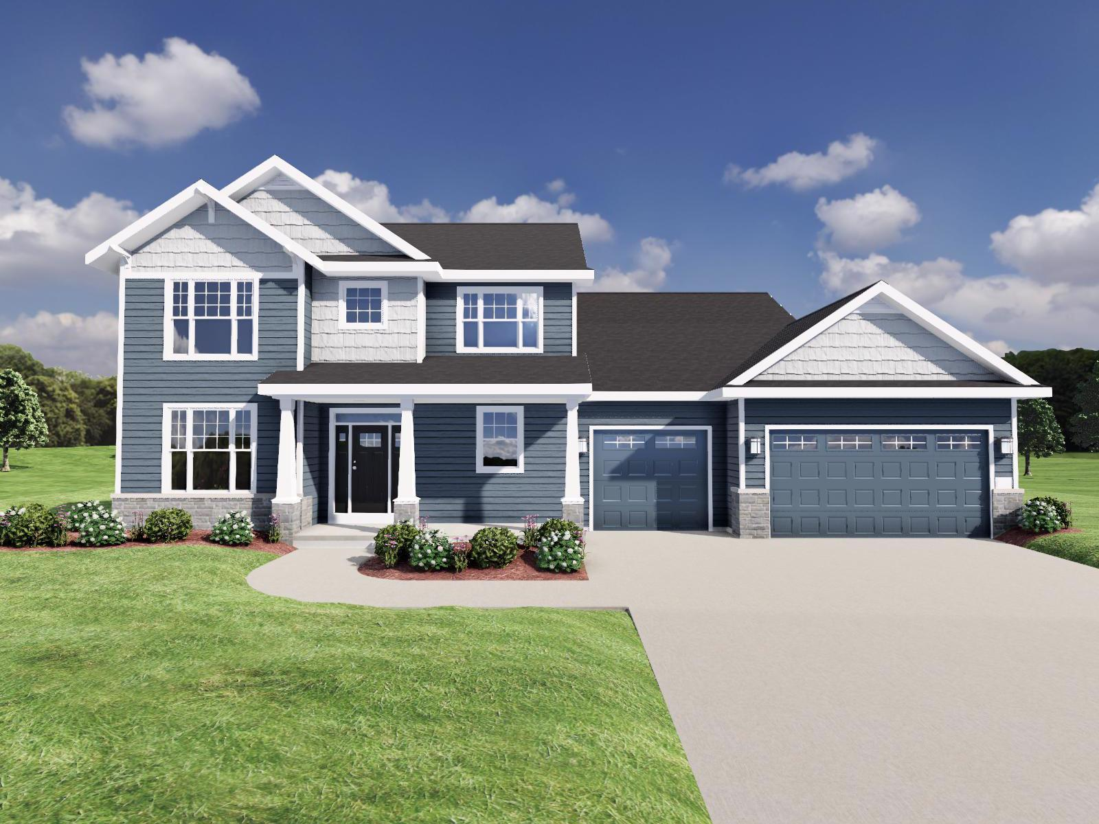 Exterior featured in The Randall SS By Veridian Homes in Milwaukee-Waukesha, WI
