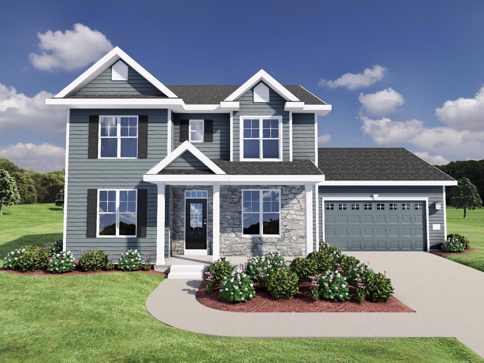 Exterior featured in The Parker SS By Veridian Homes in Milwaukee-Waukesha, WI