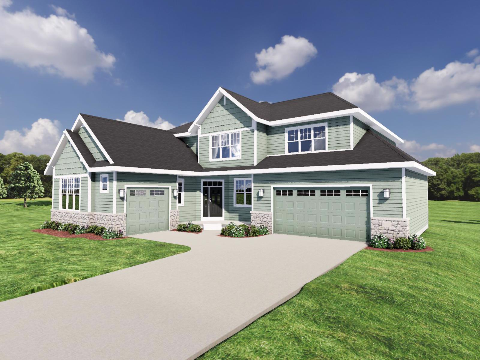 Exterior featured in The Bryant III SS By Veridian Homes in Washington-Fond du Lac, WI