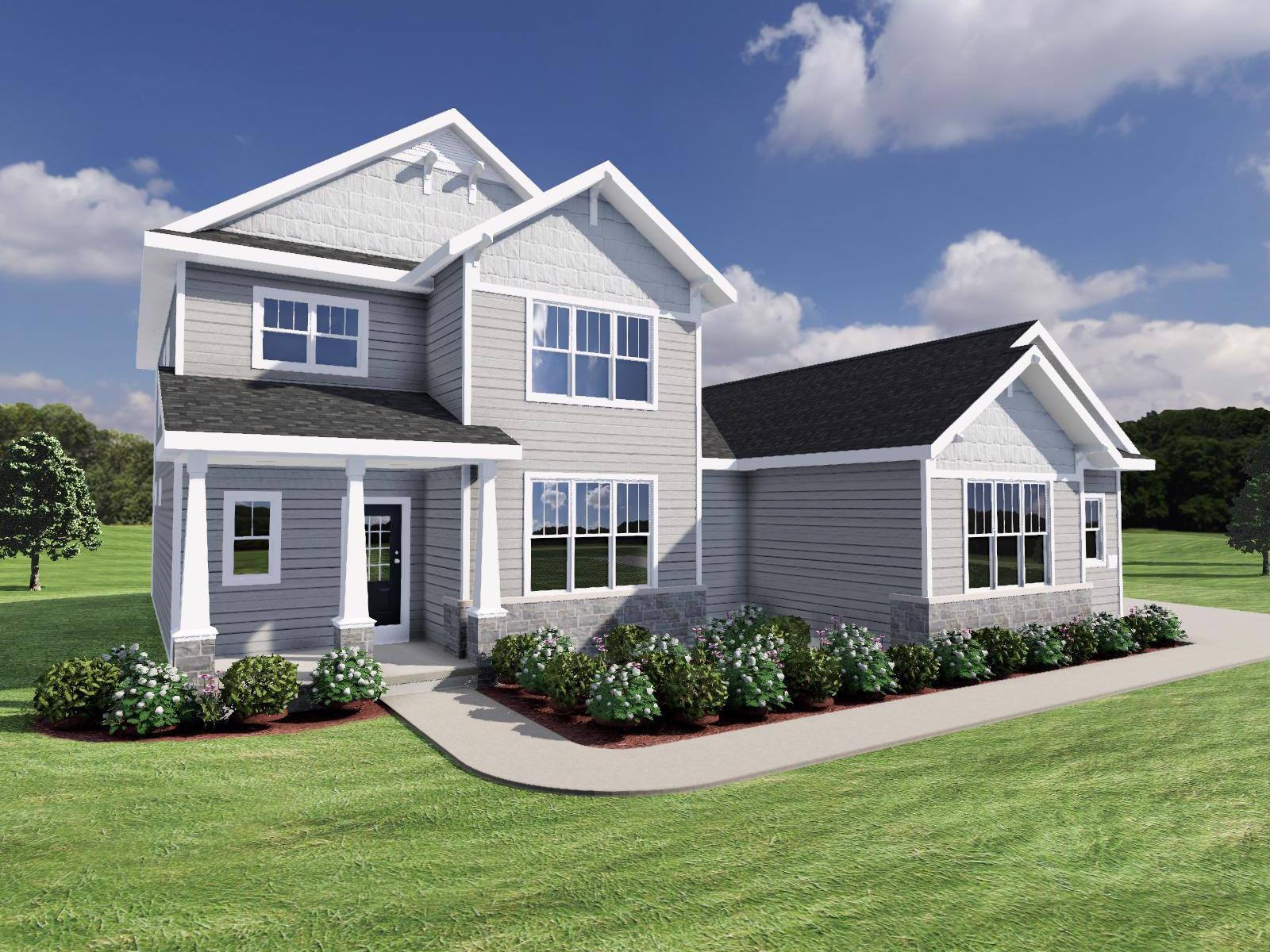 Exterior featured in The Carmichael SS By Veridian Homes in Milwaukee-Waukesha, WI