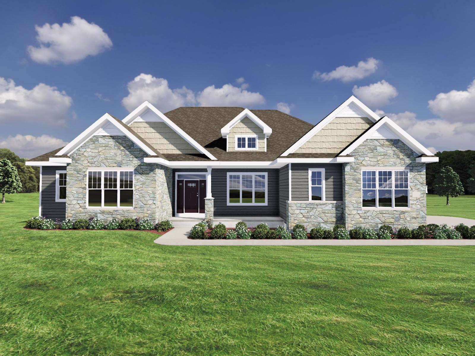Exterior featured in The Harrison SS By Veridian Homes in Milwaukee-Waukesha, WI
