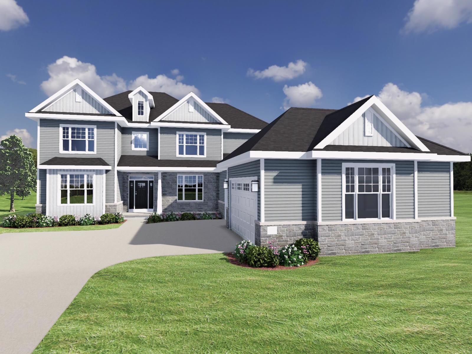 Exterior featured in The Becket SS By Veridian Homes in Milwaukee-Waukesha, WI