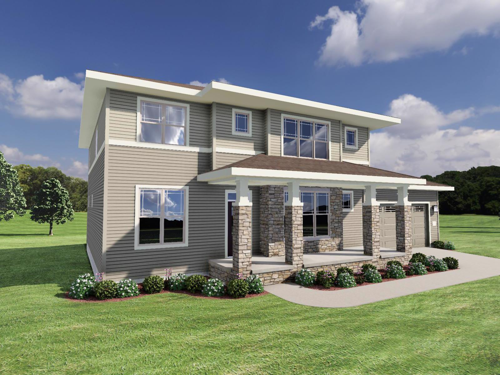 Exterior featured in The Jackson By Veridian Homes in Milwaukee-Waukesha, WI